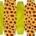 Caixa Sabonete Fundo Safari