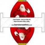 Caixa Vestido Natal Papai Noel