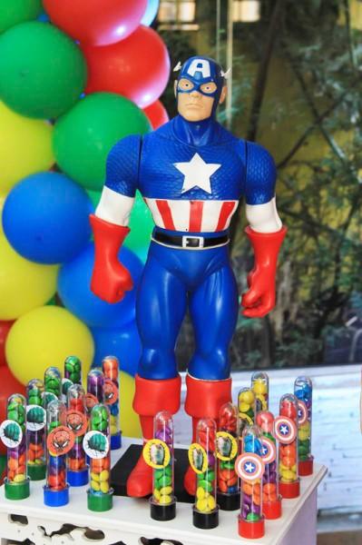 Capitão América Festa Super Heróis