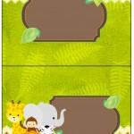 Cartão Agradecimento de Mesa Safari