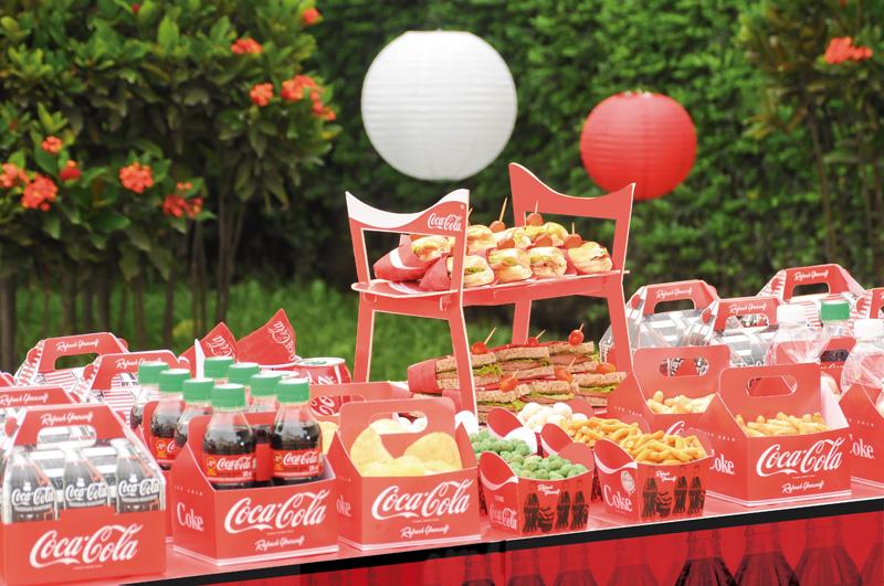 Decoração Festa Coca-Cola
