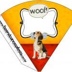 Cone Guloseimas Cachorrinho Beagle 1