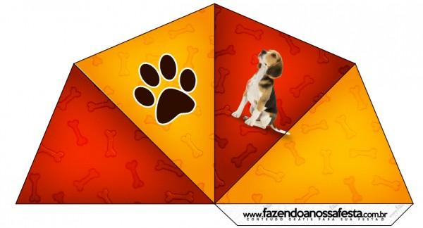 Cone Guloseimas Cachorrinho Beagle