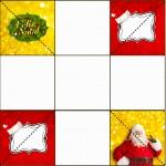 Convite Caixa Fundo Natal Papai Noel