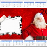 Convite Calendário 2014 Natal Papai Noel