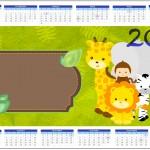 Convite Calendário 2014 Safari