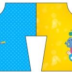 Convite Camisa Bita e os Animais para Meninos