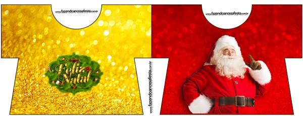 Convite Camisa Natal Papai Noel