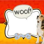 Convite, Cartão Cachorrinho Beagle