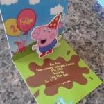 Convite George Pig 3D Pop Up – Faça você mesma!
