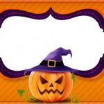 Halloween Abóbora – Kit Digital com molduras para convites, rótulos para guloseimas, lembrancinhas e imagens!