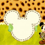Mickey Safari – Kit Festa Infantil!