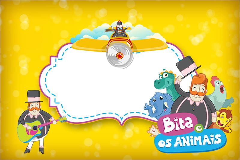 Bita e os Animais para Meninos - Kit festa infantil b148ebf8fad6a