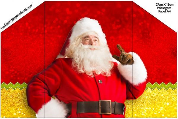 Convite Natal Papai Noel