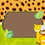 Convite Safari