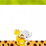 Convite ou Cartão Safari