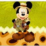 Copinho de Brigadeiro Mickey Safari