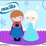 Creminho Nucita Frozen Cute Roxo e AzulCreminho Nucita Frozen Cute Roxo e Azul