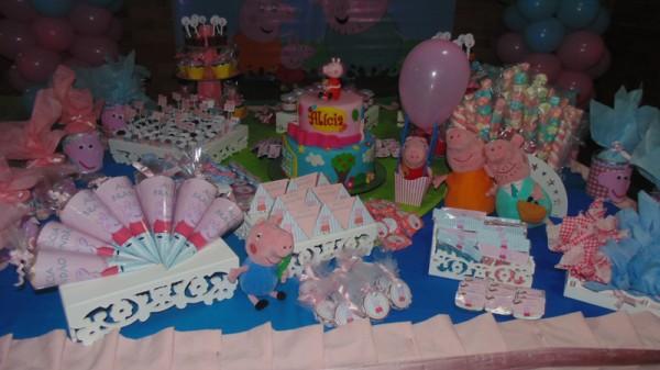 Decoração Festa Peppa Pig: