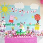 Tema: Peppa Pig – Festa da Leitora Graciela Costa da Silva!