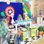 Festa Super Heróis – Festa da Leitora Pamela!