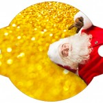 Enfeite Canudinho Natal Papai NoelEnfeite Canudinho Natal Papai Noel