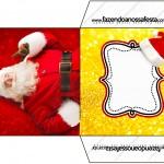 Envelope CD DVD Natal Papai Noel
