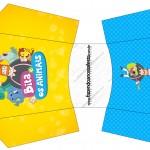 Envelope Fritas Bita e os Animais para Meninos