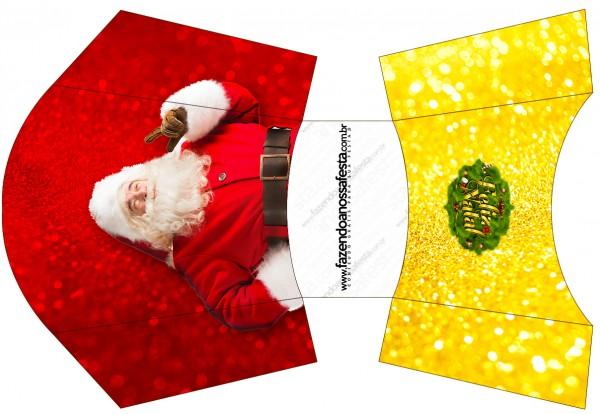 Envelope Fritas Natal Papai Noel