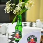 Garrafinha de Heineken como Vaso de Flor