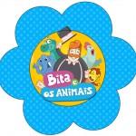 Flor Bita e os Animais para Meninos
