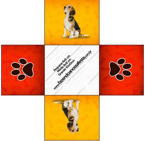 Forminhas Docinhos Cachorrinho Beagle