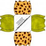 Forminhas Docinhos Fundo Safari