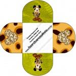Forminhas Docinhos Redonda Mickey Safari