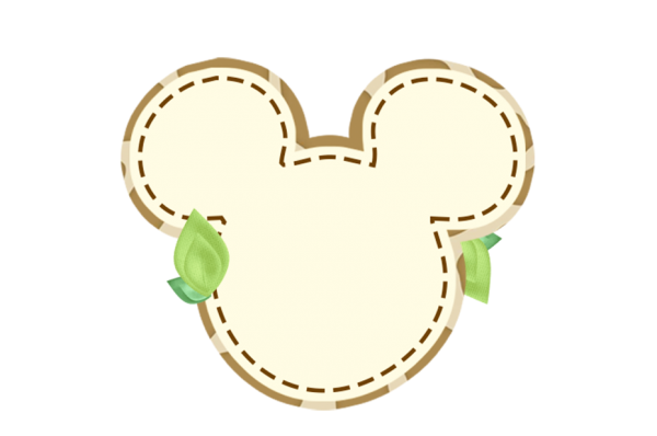 Frame Mickey Safari