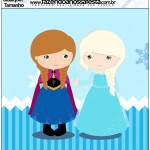 Molde Quadrado Frozen Cute