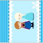 Rótulo Pé de Moleque Yoki Frozen Cute