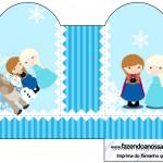 Caixa Coração Frozen