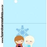 Convite Pirulito Frozen Cute