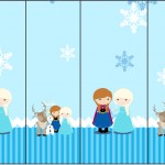 Rótulo Nescauzinho Frozen Cute