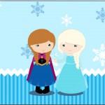 Rótulo Tubetes Frozen Cute