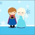 Mini Confeti Frozen Cute