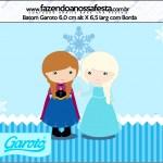 Rótulo Batom Garoto Frozen Cute