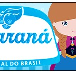 Rótulo Guaraná Caçulinha Frozen Cute
