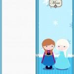 Menu Frozen Cute
