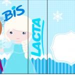 Rótulo Bis Duplo Frozen Cute