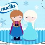 Rótulo Creminho Nucita Frozen Cute