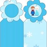 Marcador de Páginas Frozen Cute