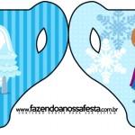Convite Xícara Frozen Cute
