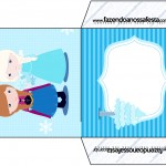 Envelope CD DVD Frozen Cute